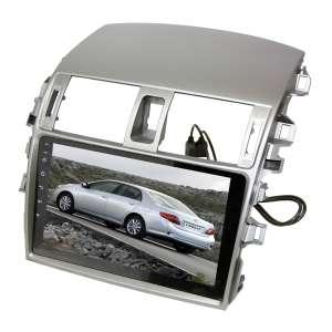 Переходная рамка для Toyota Corolla 2007-2012 LeTrun 2260  под базовую магнитолу 9 дюймов T3