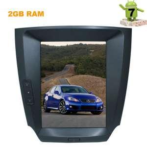 Штатная магнитола Lexus IS 2005-2013 LeTrun 2770 экран 9.6 дюймов Android 7.x Tesla