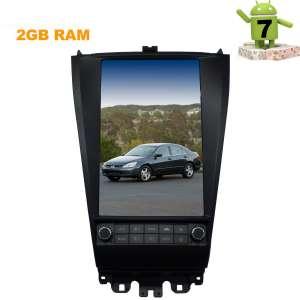 Штатная магнитола Honda Accord CL7 CL9  LeTrun 2773 ZF экран 12 дюймов Android 7.x Tesla