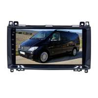 Штатная магнитола для MERCEDES A/B-CLASS, VITO,VIANO,CRAFTER,SPRINTER LeTrun 3157-3273 9 дюймов NS 2+16 Gb MTK-L Android 10.x DSP ++