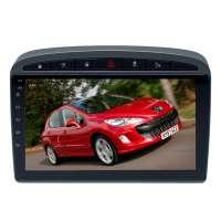 Штатная магнитола для Peugeot 308 2007-2015, 408 2012-2017, RCZ 2010-2015 LeTrun 3161-3273 9 дюймов NS 2+16 Gb MTK-L Android 10.x DSP