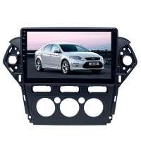 Переходная рамка для Ford Mondeo авто. климат (2011-2012) LeTrun 3163 OW под базовую магнитолу 10 дюймов