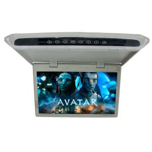 Потолочный монитор LeTrun 2645 17.3 дюйма серый SD USB HDMI