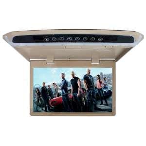 Потолочный монитор LeTrun 2649 14 дюймов бежевый SD USB HDMI