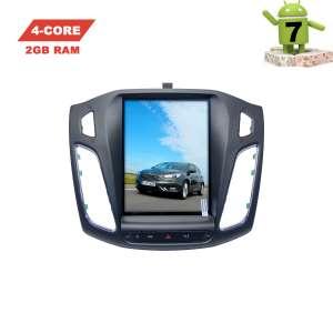 Штатная магнитола Ford Focus 3 с 2010 года LeTrun 2975 экран 10 дюймов Android 7.x Tesla ZF 2+32 Gb