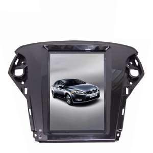 Штатная магнитола Ford Mondeo 2007-2012  LeTrun 2272 Android 7.1.1 экран 10 дюймов Tesla