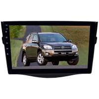 Штатная магнитола для Toyota RAV4 2006-2012 г. LeTrun 2905-3916 9 дюймов IN (1DIN) Android 10.x  4+64 Gb 8 ядер DSP ++