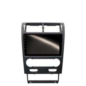 Штатная магнитола для Ford Mondeo 2004-2007 (климат) LeTrun 4593-4658 9 дюймов KLD с 1DIN корпусом Android 10 PX6 4+64 DSP