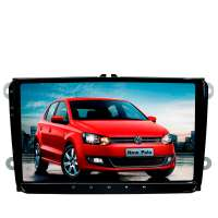 Штатная магнитола Volkswagen Polo, Jetta, Passat, Tiguan LeTrun 3074 GS Android 9.x DSP 2+16 Gb ++