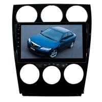 Переходная рамка для Mazda 6, Atenza c 2002 до 2007 г. LeTrun 2759 под базовую магнитолу 9 дюймов