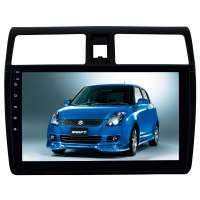 Штатная магнитола для Suzuki Swift c 2004 до 2010 года LeTrun 2760-3101 10 дюймов KD Android 9.x MTK-L 2+32 Gb+DSP ++