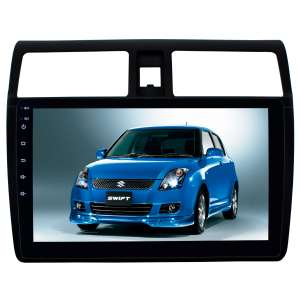 Штатная магнитола для Suzuki Swift c 2004 до 2010 года LeTrun 2760-2059 10 дюймов KD Android 8.x MTK 4G 2+16 Gb
