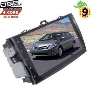 Штатная магнитола Toyota Corolla 2007-2012 года Android 9.x LeTrun 2762 DSP