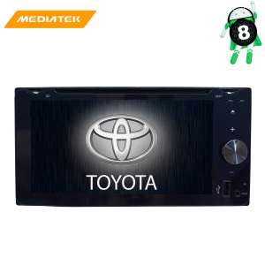 Штатная магнитола Toyota универсальная 200*100 LeTrun 2767 Android 8.x