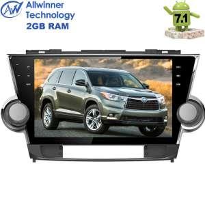 Штатная магнитола Toyota Highlander LeTrun 2286  Android 7.1 экран 10,2 дюйма T3