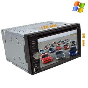 2 DIN Универсальная магнитола Nissan Qashqai, X-trail и т.д.(до 14г) LeTrun 2133 DVD