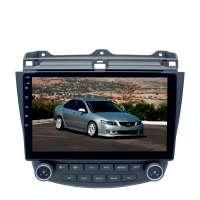 Штатная магнитола для Honda Accord CL7, CL9 LeTrun 3086-4560 10 дюймов XY Android 10 MTK-L 2+16 Gb IPS DSP