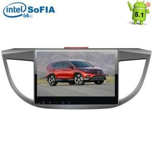 Штатная магнитола Honda CRV с 2012 г LeTrun 1707 Intel Android 5.1 экран 10,2 дюйма