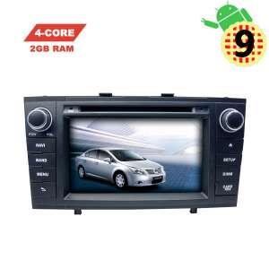 Штатная магнитола Toyota Avensis 2009-2013 LeTrun 2937 MT 2+16 Gb черный Android 9.x экран 7 дюймов