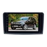 Штатная магнитола для Mercedes-benz ML, GL 2005-2012 (Глянец ) LeTrun 4338-4498 9 дюймов XY Android 10 MTK-L 2+16 Gb IPS