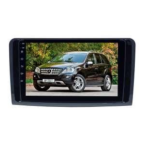 Штатная магнитола для Mercedes-benz ML, GL 2005-2012 (Глянец ) LeTrun 4338-2987 9 дюймов NS Система 360° MTK 2+32 Gb Android 7.x