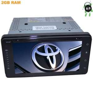 Штатная магнитола Toyota универсальная 200*100 LeTrun 2448 Android 8.1.1 DSP