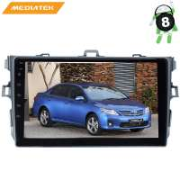 Штатная магнитола Toyota Corolla 2007-2012 г. LeTrun 2948 KDKD 9 дюймов Android 8.x  MTK-L  2.5D