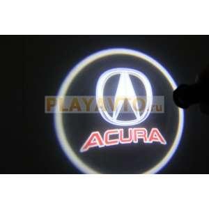 Проекторы логотипа в двери для  Acura