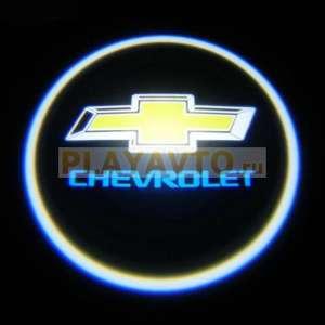 Проекторы логотипа в двери для  Chevrolet