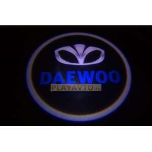 Проекторы логотипа в двери для  Daewoo