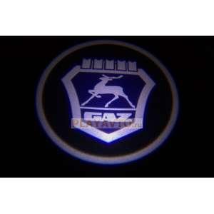 Проекторы логотипа в двери для  Gaz