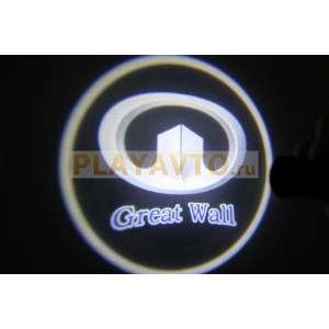 Проекторы логотипа в двери для  Great wall