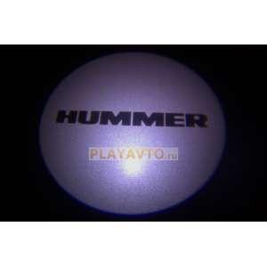 Проекторы логотипа в двери для  Hummer