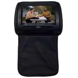 Подголовник с монитором 9 дюймов LeTrun 2658 USB SD DVD черный