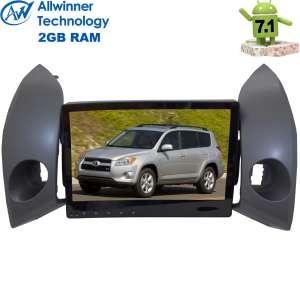 Штатная магнитола Toyota RAV4 2006-2012 г. LeTrun 2352 Android 7.1.1 Alwinner T3 экран 10,2 дюйма