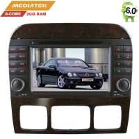 Штатная магнитола Mercedes CL W215,S W220, S280, S300, S320, S350 LeTrun 2291 Android 8.x MTK 4G 8 ядер