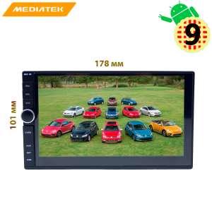Магнитола 2 DIN универсальная LeTrun 2983 NS Android 9.x 1+16 Gb