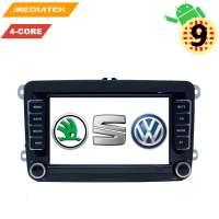 Штатная магнитола Volkswagen Polo, Jetta, Passat, Tiguan 7 дюймов Android 9.x LeTrun 2984 NS