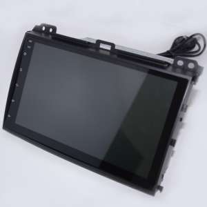 Штатная магнитола Toyota Land Cruiser Prado 120 LeTrun 2422 Android 7.1.2 Alwinner экран 9 дюймов