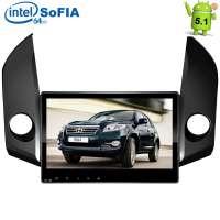 Штатная магнитола Toyota RAV4 2006-2012 г. LeTrun 1679 Android 5.1 экран 10 дюймов