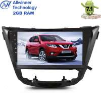 Штатная магнитола Nissan X-trail,Qashqai 14+ LeTrun 2278 Android 7.1.1 Alwinner T3 экран 10 дюймов