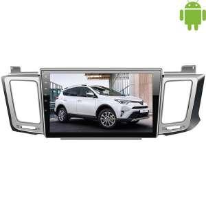 Штатная магнитола Toyota RAV4 с 2013 г. LeTrun 1531 Android 4.4.4 экран 10,2 дюйма