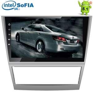 Штатная магнитола Toyota Camry 2006-2011 LeTrun 1532  Android 5.1 экран 10,1 дюйма