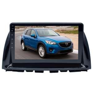 Штатная магнитола для Mazda CX5 2012-2015 гг. LeTrun 4357-4463 10 дюймов VT Android 10 MTK-L 2+16 Gb ASP ++