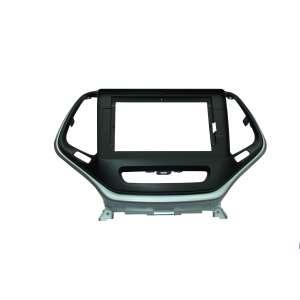 Переходная рамка для Jeep Cherokee с 2014 года LeTrun 1880  под базовую магнитолу 10 дюймов