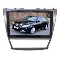 Переходная рамка для Toyota Camry 2006-2011 года LeTrun 1882  под базовую магнитолу 10 дюймов MTK