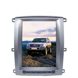 Штатная магнитола Toyota Land Cruiser 100 с 2002 года LeTrun 4349 KLD 12 дюймов PX 6 6 ядер Android 9.x Tesla 4+32 Gb DSP б/у