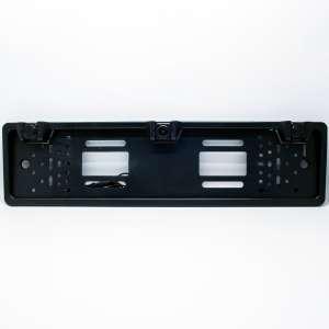 Камера заднего вида черная ( два парктроника) 170  градусов с рамкой под номер Letrun 3038