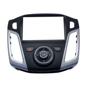 Переходная рамка для Ford Focus 3 ( 2011-2015 г ) LeTrun 2709  под базовую магнитолу 9 дюймов