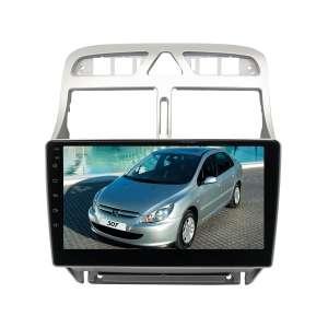 Штатная магнитола для Peugeot 307 LeTrun 3417-2987 9 дюймов NS Система 360° MTK 2+32 Gb Android 7.x